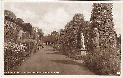 Grassy Carpet, Drummond Castle Gardens, Nr CRIEFF, Perthshire