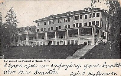 1907 Fort Comfort Inn Piermont On Hudson Ny Post Card Rockland County