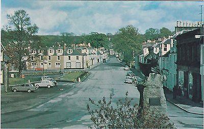 St. Cuthbert Street & War Memorial, KIRKCUDBRIGHT, Kirkcudbrightshire