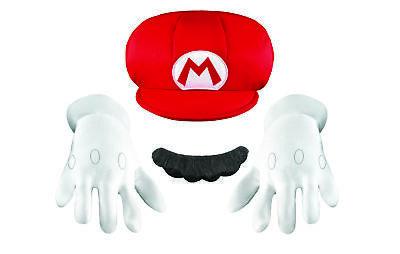 Mario Accessory Kit Child Child Boys Costume Accessories - Mario Costume Accessories