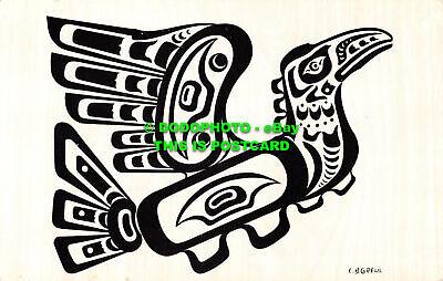 R529274 C. B. Greul. Pacific Northwest Coast Indian Motif. Hoho. Thunderbird. C.