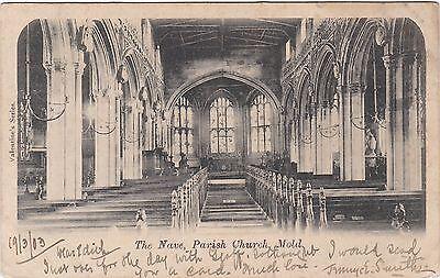 The Nave, Parish Church, MOLD, Flintshire