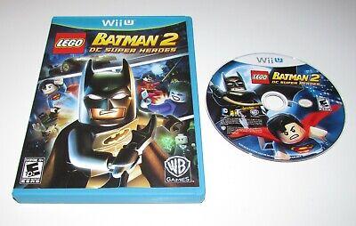 LEGO Batman 2: DC Super Heroes for Nintendo Wii U Fast Shipping!