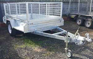 8 x 5 HEAVY DUTY BOX TRAILER 1.4t 300MM SIDES 12Mths Free Rego Coopers Plains Brisbane South West Preview