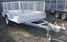 8 x 5 HEAVY DUTY BOX TRAILER 1.4t ATM 300MM SIDES BRAKED Coopers Plains Brisbane South West Preview