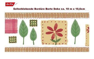 d-c-fix Selbstklebende Bordüre Borte Deko Küche ca. 10 m x 10,6cm