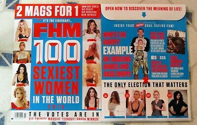 FHM UK TAYLOR SWIFT June 2015 Hot KATE UPTON 100 SEXIEST WOMEN 2 Mags For 1 MORE