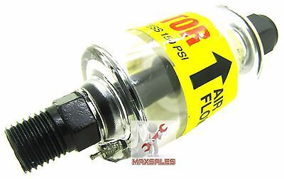"""New Air Oil & Water Separator Trap Filter Seperator 1/4"""" NPT Air Cleaning 150PSI"""
