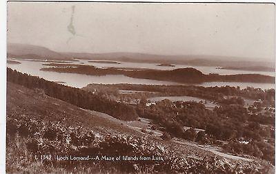 A Maze Of Islands & Loch Lomond, LUSS, Dunbartonshire RP