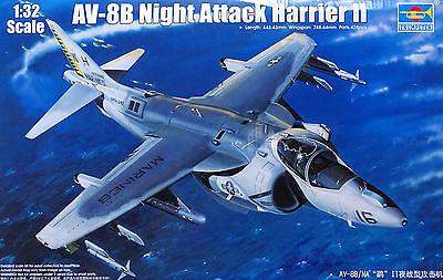 TRUMPETER® 02285 AV-8B Night Attack Harrier II in 1:32