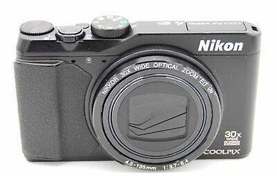 Nikon Coolpix S9900 16.0MP 3''SCREEN 30X ZOOM DIGITAL CAMERA BLACK (NO BATTERY), usado segunda mano  Embacar hacia Mexico