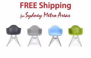 SALE - Eames Style DAR Dining Chair (set of 4) Zetland Inner Sydney Preview