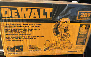 Dewalt 20v Max 7.25 cordless miter saw brand new in box