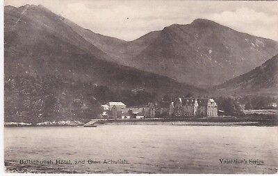 The Hotel & Glen Achulish, BALLACHULISH, Argyllshire
