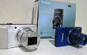 Sony & Canon Digital Camers, 20mp, full HD,3D,IS,16X Optical Zoom South Yarra Stonnington Area Preview