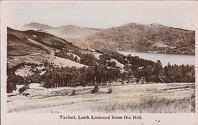 Loch Lomond From The Hill, TARBET, Dunbartonshire RP