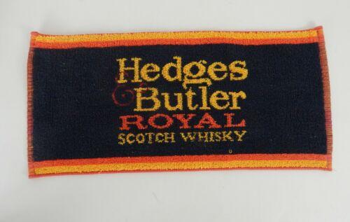 Hedges & Butler Royal Scotch Whiskey Golf/Bar/Hand Towel British Made Towel