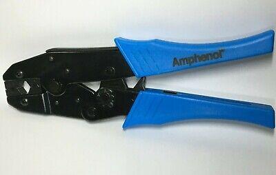 Amphenol Ctl-3 Crimper For N Type Rf Connectors Rg 8 Rg 58 Rg 213 Rg 214
