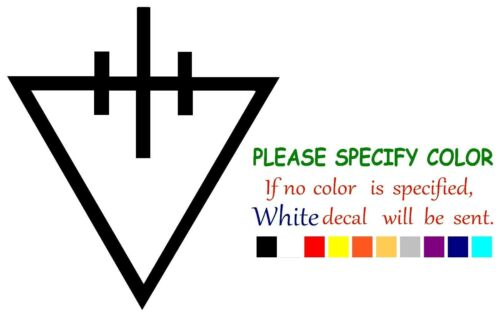 "The Devil Wears Prada Throne Graphic Die Cut decal sticker Car Truck Boat 6"""