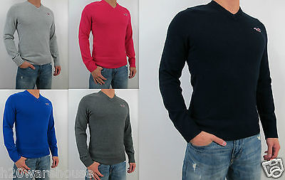 NWT Hollister 2012 Men Slim Fit Harbor Beach Long Sleeve Sweater By Abercrombie