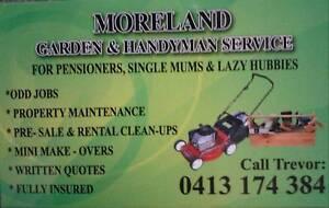 Moreland Garden & Handyman Service Malvern Unley Area Preview