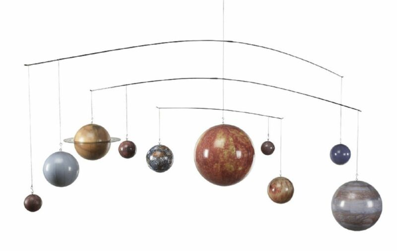 Astronomy Solar Planet System Globe Mobile Hanging Model