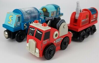 Sodor Fire Brigade Truck Train Water Pumper Tanker Thomas the Train 100% Genuine