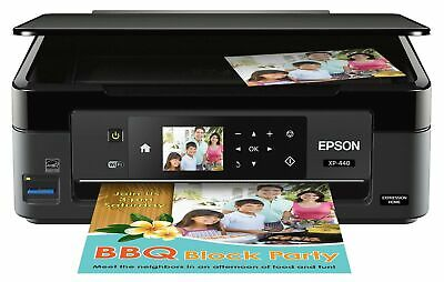Impresora De Fotos En Color Inalambrica Expression Home Xp-440 Con Escaner Y... segunda mano  Embacar hacia Mexico