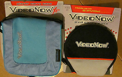 Brand New*Video Now PVD & XP Carry Cases From 2005! Great Gifts For VideoNow-ers