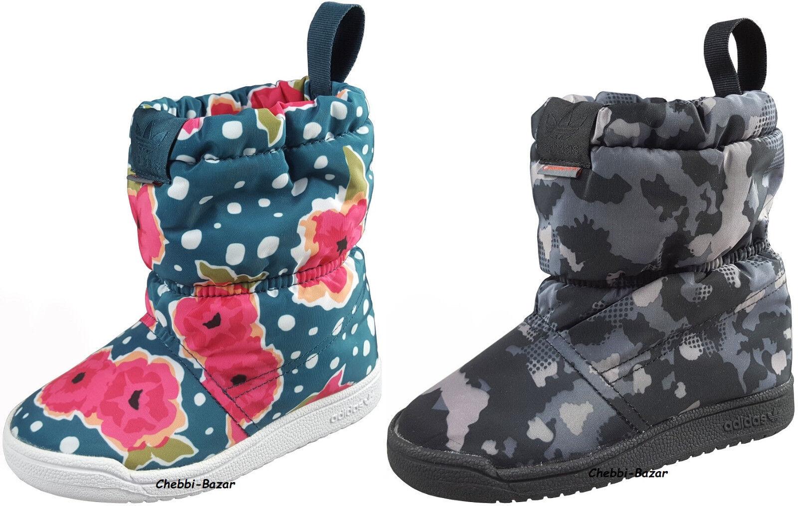 Adidas SLIP ON BOOT Kinder Jungen Mädchen Schuhe Schneestiefel Winterstiefel NEU