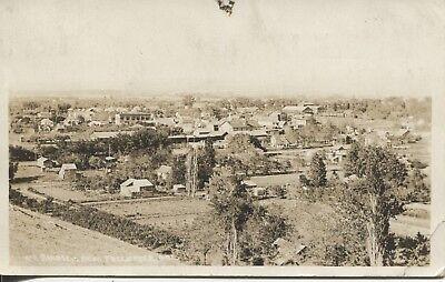 - Real Photo Postcard RPPC Birdseye View Freewater Oregon c.1920