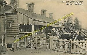 Colchester First Railway Station Photo. Great Eastern Railway