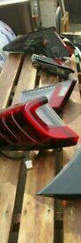 Honda civic mk9 fk 2012 2016 rear lights boot tailgate