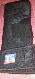 Brand new black knee brace