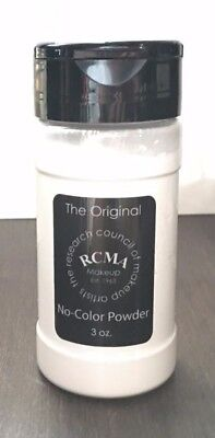 Powder 3 Oz Shaker (*NEW* RCMA No-Color Powder 3oz - Face cosmetic Loose Powder -Shaker Top Bottle ! )
