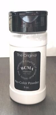 (*NEW* RCMA No-Color Powder 3oz - Face cosmetic Loose Powder -Shaker Top Bottle !)