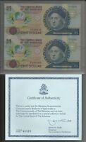 Bahamas - 1 Dollar Nd (1992) Unc Pick 50 Coppia Uncut -  - ebay.it