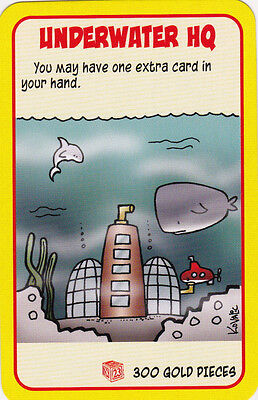 Underwater Zombies (New Super Munchkin Promo Treasure Card Underwater HQ Hold Extra Card Dice)