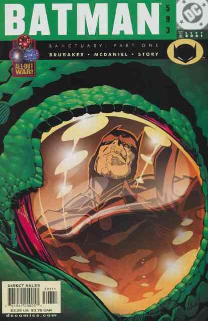 BATMAN #593 NEAR MINT 2001 DC COMICS