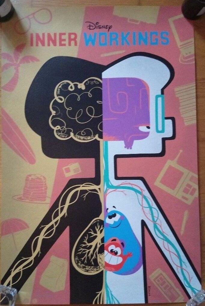 Mondo X Cyclops Print Works Print Inner Workings By Benson Shum