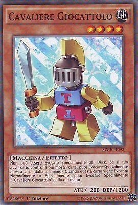 3x Cavaliere Jouet - Toy Knight YU-GI-OH! SECE-IT093 Ita COMMUNE 1 Ed