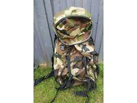 Pro Action Camouflage 50lt Hiking Rucksack