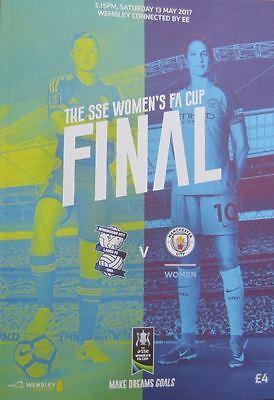 WOMEN'S FA CUP FINAL 2017 Birmingham v Manchester City