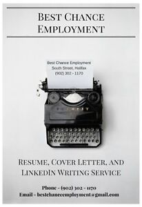 Best Chance Employment - Resume and Cover Letter Writing