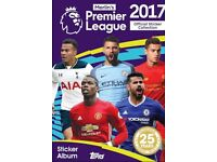 Premier League Football Stickers 2017 Swap or sell