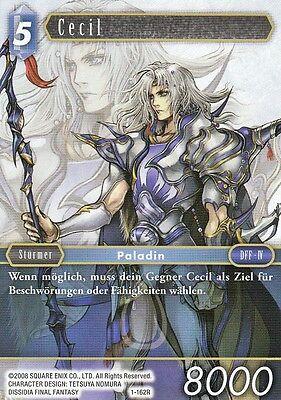 Cecil (1-162R)  Final Fantasy TCG Opus I  Deutsch  NEU TopMint