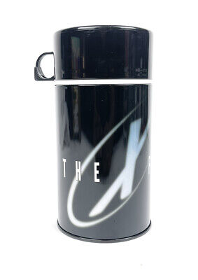 Vintage 90s X Files Black Thermo Cup G Whiz Enterprise 1998