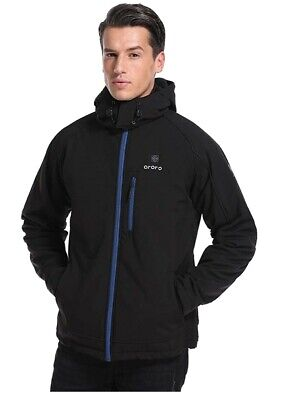 ORORO Men Heated Jacket Winter Heat Coat Battery Winter Outdoor Warm Clothing