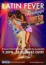 LATIN DANCING @ ONE50 Public House Bundall, EVERY Friday Night! Bundall Gold Coast City Preview