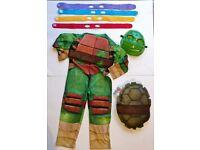 Kids dress-up - Teenage Mutant Ninja Turtles - Age 5-6 (Only worn once!)